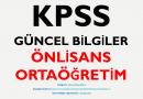 """2020 KPSS Güncel Bilgiler """"Önlisans – Ortaöğretim"""" PDF İndir"""