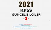 2021 KPSS Güncel Bilgiler 3 PDF İndir